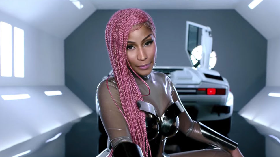 Nicki Minaj Steals The Show In The Motorsport Video Featuring Migos Cardi B Trace