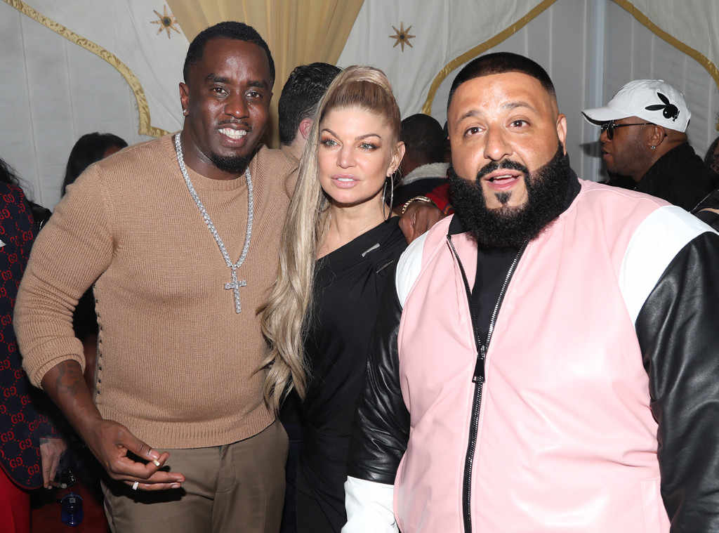 Diddy, Fergie, Khaled