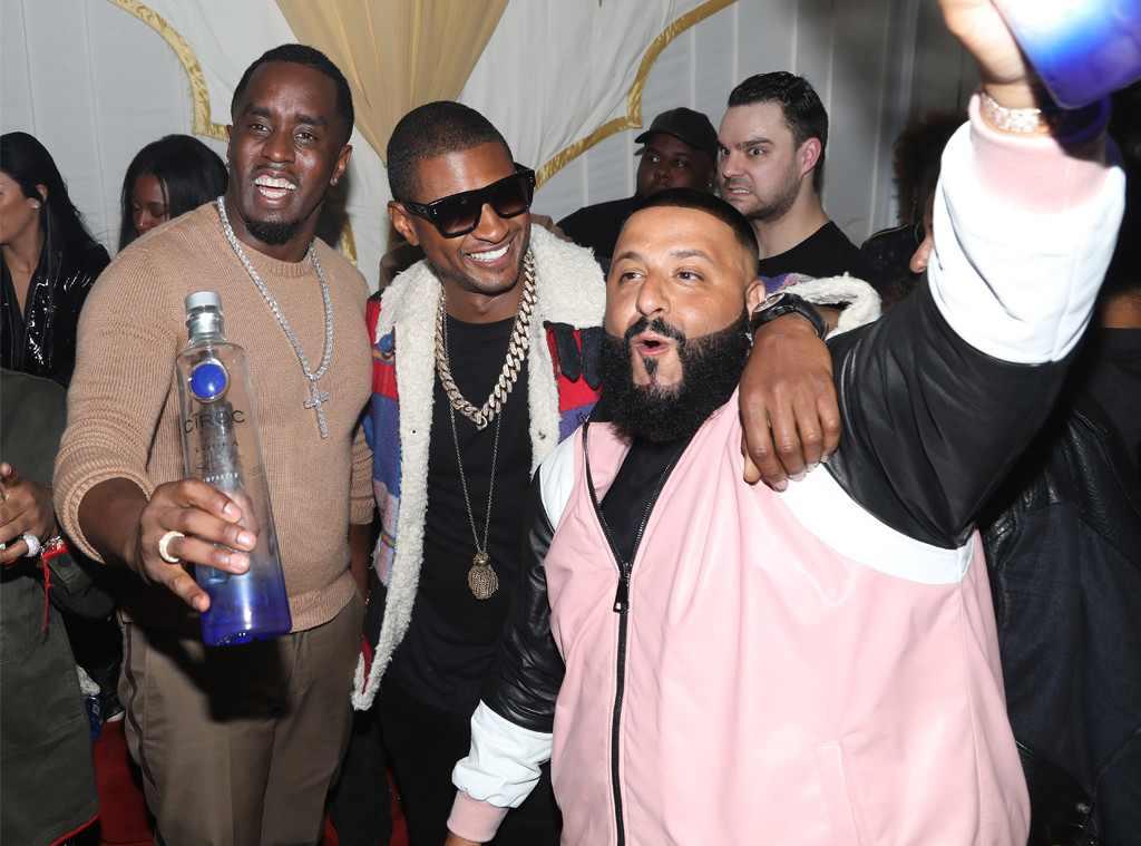 Diddy, Usher, DJ Khaled