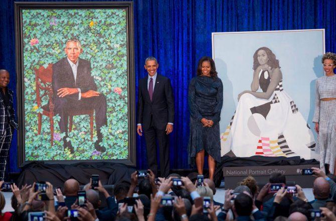 portraits-obamas