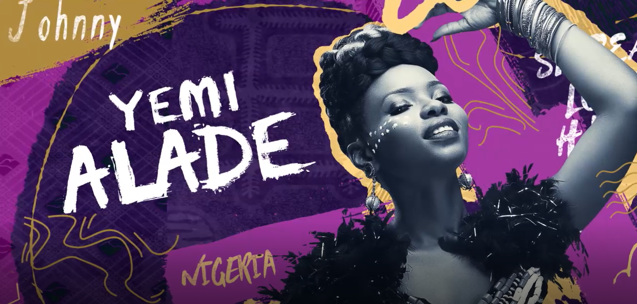 Yemi Alade billboard with BasslineFest theme