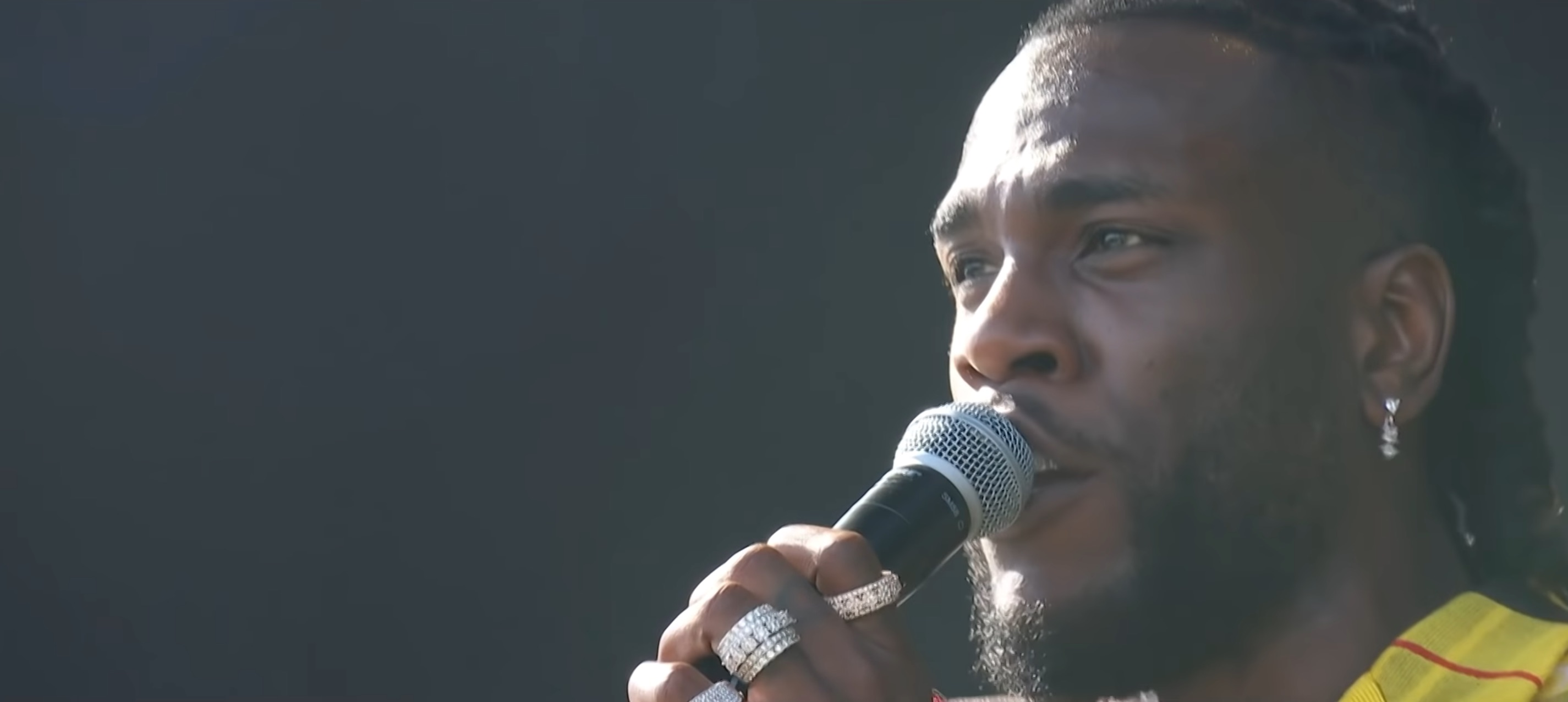 Watch Burna Boy's perform 'Ye' at Coachella - TRACE